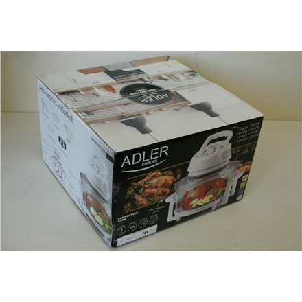 0cc9e26670d SALE OUT. Adler AD 6304 Convection oven, Capacity 12L, Power 1300W,  Heat-resistant glass, Temperature adjustment, Timer - Adler DAMAGED  PACKAGING