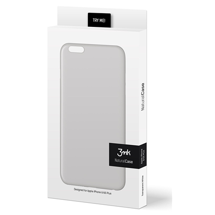 ea6b3ccbd5c 3MK NaturalCase Apple, iPhone 6/6S plus, Polypropylene, Transparent White