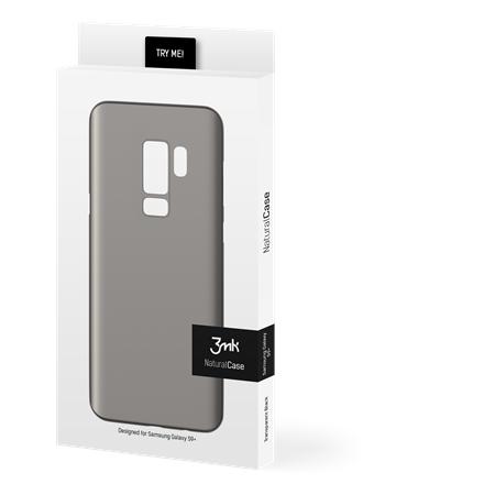 4c40eafb878 3MK NaturalCase Samsung, Galaxy S9 Plus, Polypropylene, Transparent Black