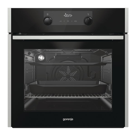 e99cdf4a4fa Gorenje Oven BOP637E20XG Built-in, 63 L, Stainless steel, Pyrolysis,  Mechanical, Height 60 cm, Width 60 cm, Integrated timer