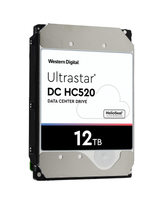 Western Digital Ultrastar DC HC520, 3.5', 12TB, SAS, 7200RPM, 256MB cache