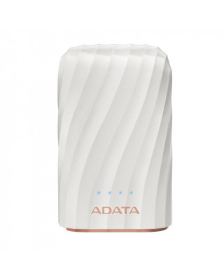 ADATA P10050C Power Bank, 10050mAh, white