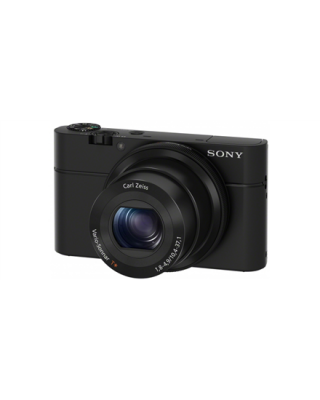 Sony Cyber-shot DSC-RX100 Compact camera, 20.2 MP, Optical zoom 3.6 x, Digital zoom 54 x, Image stabilizer, Display diagonal 7.62 cm, Video recording, Lithium-Ion (Li-Ion), Black