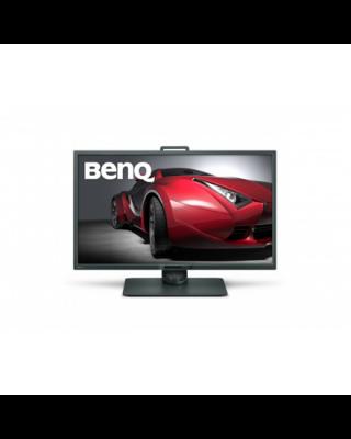 "Benq 4K Designer Monitor PD3200U 32 "", IPS, 4K UHD, 3840 x 2160 pixels, 16:9, 4 ms, 350 cd/m², Grey, HDMI, DP, miniDP, USB, SD/MMC card reader"