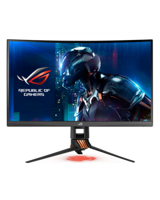 "Asus ROG Swift Gaming PG27VQ 27 "", TN, WQHD, 2560 x 1440 pixels, 1 ms, 400 cd/m², Armor titanium, Plasma copper"