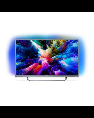 """Philips 7300 series 55PUS7303/12 55"""" (140 cm), Smart TV, Ultra HD  4K Ultra Slim LED, 3840 x 2160  pixels, Wi-Fi, DVB-T/T2/C/S/S2, Silver"""