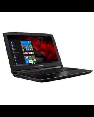 "Acer Predator Helios 300 Black, 15.6 "", IPS, Full HD, 1920 x 1080 pixels, Matt, Intel Core i7, i7-8750H, 16 GB, DDR4, SSD 512 GB, NVIDIA GeForce 1060, GDDR5, 6 GB, No Optical drive, Windows 10 Home, 802.11 ac/a/b/g/n, Bluetooth version 4.0, Keyboard language English, Keyboard backlit, Warranty 24 month(s), Battery warranty 12 month(s)"