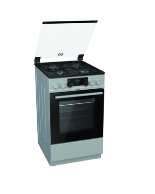 Gorenje Cooker 	K5341SJ Hob type  Gas, Oven type Electric, Inox, Width 50 cm, Electronic ignition, Grilling, LED, 62 L, Depth 60 cm