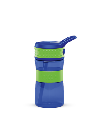 Boddels EEN Drinking bottle Bottle,  Apple green/Blue, Capacity 0.4 L, Yes