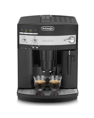 Delonghi Coffee maker ESAM 3000 Magnifica Pump pressure 15 bar, Fully automatic, 1350 W, Black