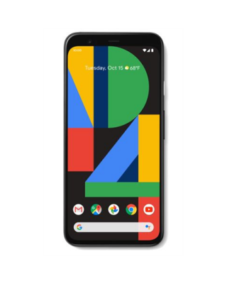 "google Pixel 4 Black, 5.7 "", P-OLED, 1080 x 2280 pixels, Qualcomm SDM855 Snapdragon 855, Internal RAM 6 GB, 64 GB, Single SIM, Nano-SIM card & eSIM, 4G, Main camera 12.2+16 MP, Secondary camera 8 MP, Android, 10, 2800 mAh"