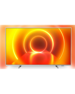 "Philips 50PUS7855/12 50"" (126 cm), Smart TV, Saphi, 4K UHD LED, 3840 x 2160 pixels, Wi-Fi, DVB-T/T2/T2-HD/C/S/S2, Light-silver"