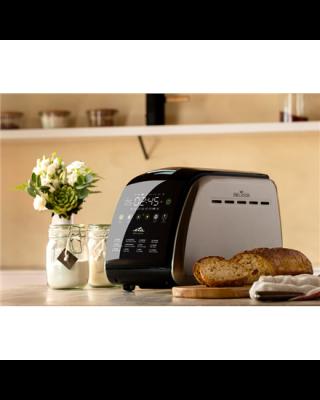 ETA Bread maker Delicca II ETA714990030 Power 850 W, Number of programs 12, Display Yes, Black/Stainless steel