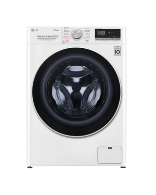 LG Washing machine F4WV510S0E Energy efficiency class E, Front loading, Washing capacity 10.5 kg, 1400 RPM, Depth 56 cm, Width 60 cm, Display, LED, Steam function, Direct drive, Wi-Fi, White