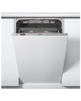 WHIRLPOOL Dishwasher WSIO3T223PCEX A++, 45 cm, Powerclean PRO, Third basket, 7 programs