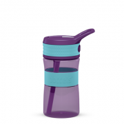 Boddels EEN Drinking bottle Bottle, Turqouise blue/ Purple, Capacity 0.4 L, Yes