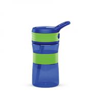 Boddels EEN Drinking bottle Bottle,  Apple green/Blue, Capacity 0.4 L, Yes