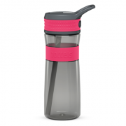 Boddels EEN Drinking bottle Bottle,  Raspberry red/Grey, Capacity 0.6 L, Yes