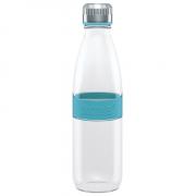 Boddels DREE Drinking bottle, glass Bottle, Turquoise blue, Capacity 0.65 L, Bisphenol A (BPA) free