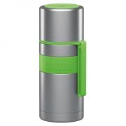 Boddels HEET Vacuum flask with cup  Apple green, Capacity 0.35 L, Diameter 7.2 cm, Bisphenol A (BPA) free