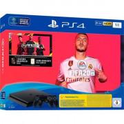 PLAYSTATION 4 CONSOLE 1TB SLIM//FIFA 20 /2ND DUALSHOCK SONY