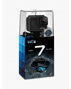 GoPro Hero7 Black, Wi-Fi, Touchscreen, Bluetooth, Full HD, Built-in display, Built-in microphone, Waterproof