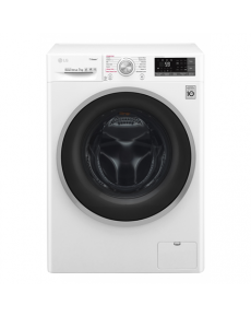 LG Washing machine F2J7HY1W Front loading, Washing capacity 7 kg, 1200 RPM, Direct drive, A+++-10%, Depth 45 cm, Width 60 cm, White, LED, Steam function, Display, Wi-Fi