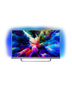"Philips 7300 series 55PUS7303/12 55"" (140 cm), Smart TV, Ultra HD 4K Ultra Slim LED, 3840 x 2160 pixels, Wi-Fi, DVB-T/T2/C/S/S2, Silver"