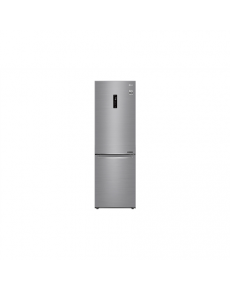 LG Refrigerator GBB71PZDZN Free standing, Combi, Height 186 cm, A++, No Frost system, Fridge net capacity 232 L, Freezer net capacity 107 L, Display, 36 dB, Platinum silver3