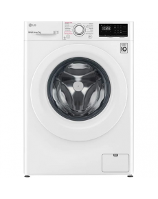 LG Washing Machine F4WN207S3E Energy efficiency class D, Front loading, Washing capacity 7 kg, 1400 RPM, Depth 56 cm, Width 60 cm, Display, LED, Steam function, White