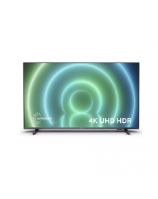 """Philips 70PUS7906/12 70"""" (178 cm), Android, 4K UHD LED, 3840 x 2160 pixels, Wi-Fi, DVB-T/T2/T2-HD/C/S/S2, Anthracite gray"""