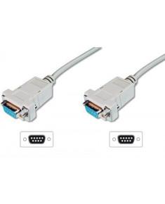 ASSMANN RS232 Connection Cable DSUB9 F (jack)/DSUB9 F (jack) 3m beige