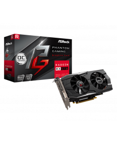 ASRock Phantom Gaming D Radeon RX570 8G OC, 8 GB GDDR5, 3xDP, HDMI, DVI-D