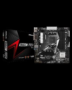 ASRock A320M PRO4 R2.0, AMD AM4 B450/4DDR4/4SATA3