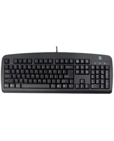 A4Tech Keyboard KB720 standard, wired, Keyboard layout EN/RU, black, USB