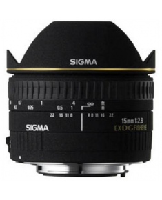 Sigma EX 15mm F2.8 DG Diagonal-Fisheye Nikon
