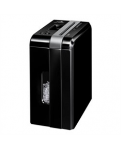Fellowes Powershred DS-700Cs Black, 10 L, Credit cards shredding, Paper handling standard/output 7 sheets per pass, Warranty 24 month(s), Cross-Cut Shredder