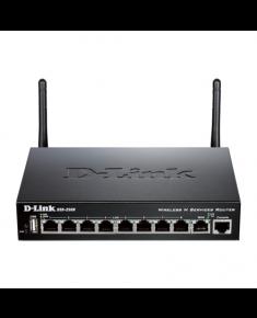 D-Link DSR-250N Ethernet LAN (RJ-45) ports 10, 1000 Mbit/s, Warranty 24 month(s)