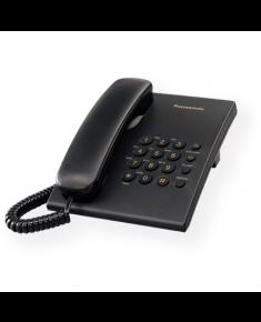 Panasonic Corded KX-TS500FXB 475 g, 150 x 200 x 96 mm, Black