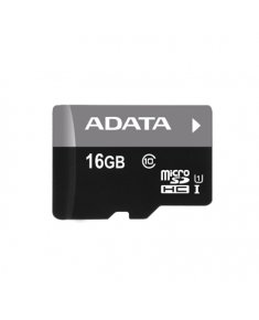 ADATA Premier UHS-I 16 GB, MicroSDHC, Flash memory class 10, SD adapter