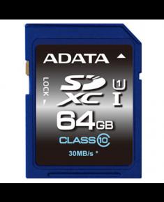 ADATA Premier 64 GB, SDHC, Flash memory class 10, No
