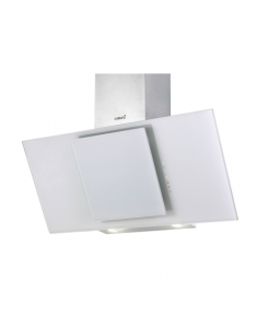 CATA Hood Ceres 900XGWH Wall mounted, Energy efficiency class E, Width 90 cm, 560 m³/h, Touch control, Halogen, White glass