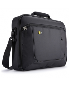 "Case Logic Laptop and iPad Briefcase Fits up to size 17.3 "", Black, Messenger - Briefcase, Shoulder strap"