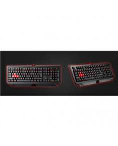 A4Tech B120 Gaming, Wired, Keyboard layout EN, 1.8 m, Black