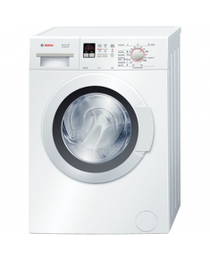 Bosch Washing machine WLG24160BY Front loading, Washing capacity 5 kg, 1200 RPM, A+++, Depth 40 cm, Width 60 cm, White, LED, Display,