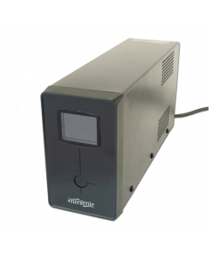 EnerGenie UPS with USB and LCD display, Black 850 VA, 510 W, 220 V