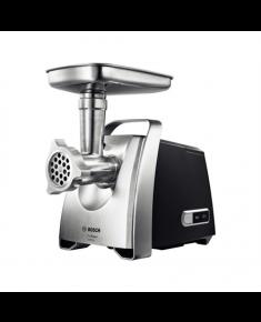 Bosch Meat mincer MFW68660 Black, Throughput (kg/min) 4.3, Kebbe, Sausage horn, Fruit press, Shredding Attachment, 4 barrels, 800 W