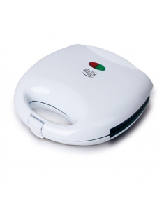 Adler Sandwich maker AD 301 750 W, Number of plates 1, Number of pastry 2, White