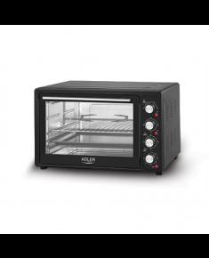 Adler AD 6010 45 L, Mini Oven, Black, 2000 W
