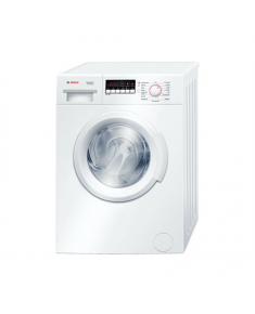 Bosch Washing machine WAB28266SN Front loading, Washing capacity 6 kg, 1400 RPM, A+++, Depth 55 cm, Width 60 cm, White, LED, Display